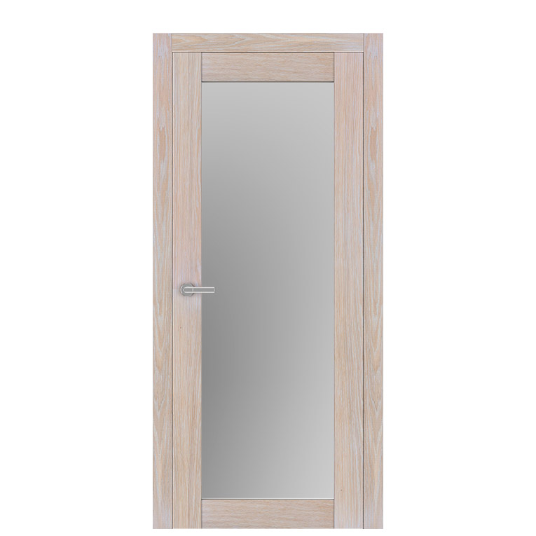 Unica 1 natural wood bleached oak interior doors at thedoorsdepot buy unica 1 natural wood for Purchase interior doors online