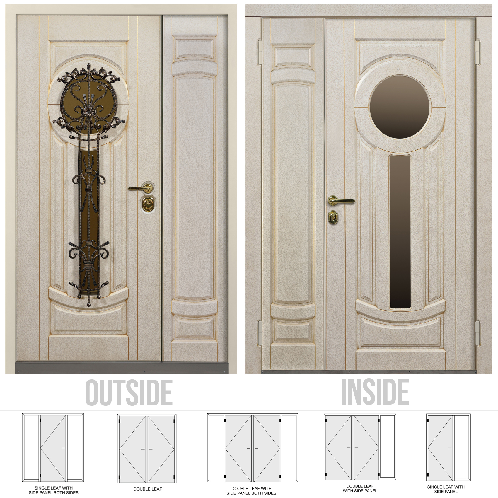 Buy Athens Double Front Door At A Bargain Price From Novo