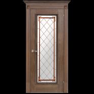 Romula 5 Glazed Door | Chestnut