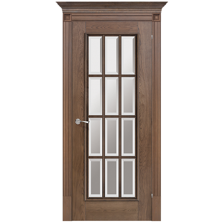 Charmant ... Romula 5 Glazed Door | Chestnut ...