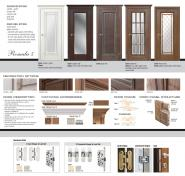 Romula 5 Glazed Door | Vanilla Gold