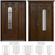 Lazio Double Entry Door