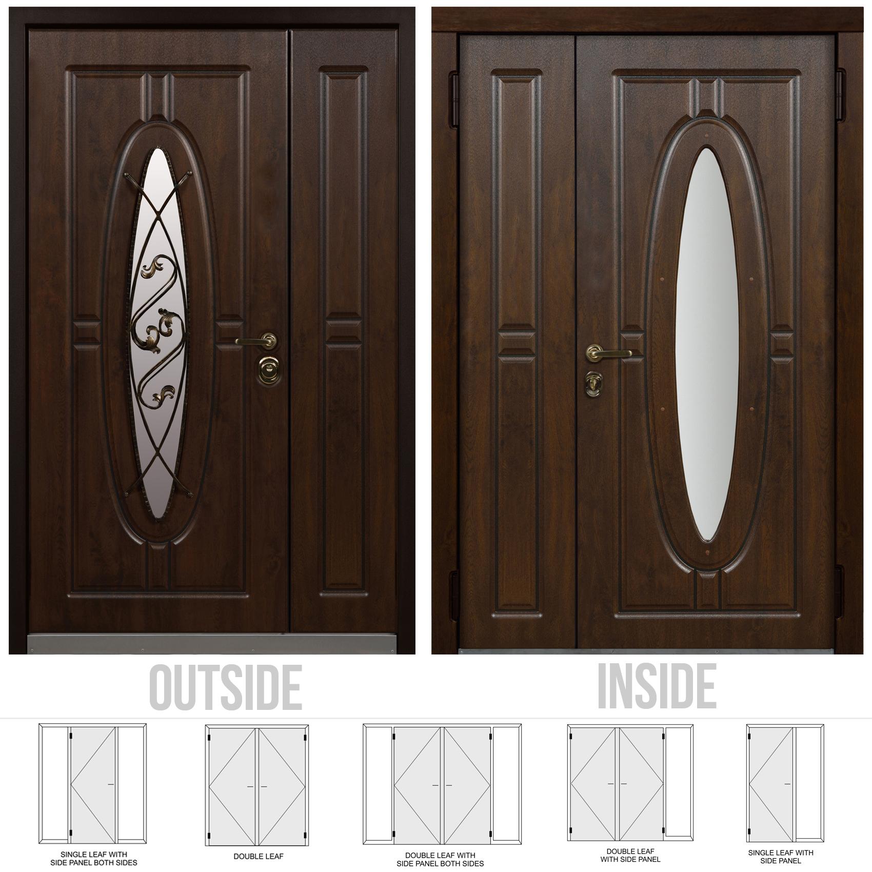 ... Monarch Double Front Door ... & Buy Monarch Double front door at a bargain price from Novo Porte at ...
