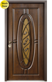 Monarch entry door