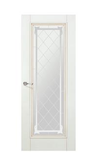 Romula 5 Glazed Door | Vanilla Gold