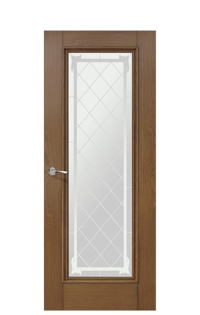 Romula 5 Glazed Door | Honey Oak