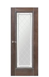 Romula 5 Glazed Door | Grey Oak
