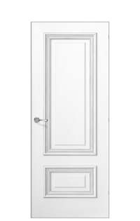 Doge-1A Door | Antique Silver