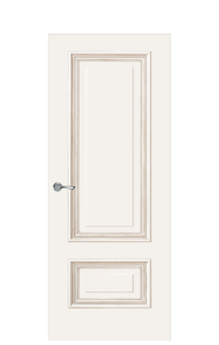 Doge-1A Door | Antique Gold