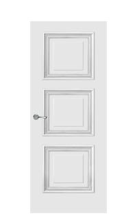 Doge-1D Door | Antique Silver