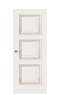 Doge-1D Door | Antique Gold