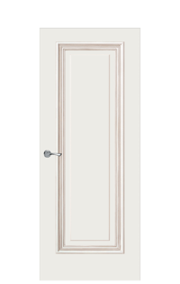 Doge-1E Interior Door | Antique Gold