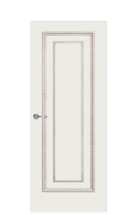 Doge-2 Enamel Painted Door | Antique Gold
