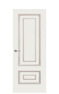 Doge-2AF Interior Door | Antique Gold