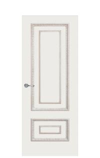 Doge-2AF Interior Door | Antique Gold