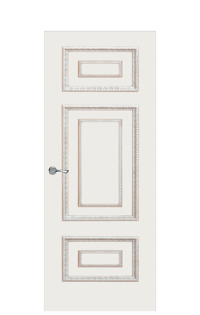 Doge-2C Door in Antique Gold