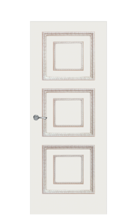 Doge-2D Interior Door in Antique Gold