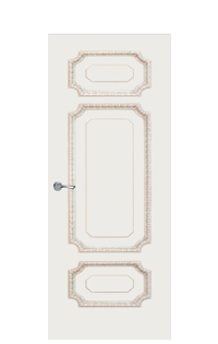 Doge-3C Door | Antique Gold