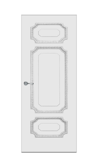 Doge-3C Door | Antique Silver