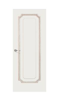 Doge-3E Enamel Painted Door | Antique Gold