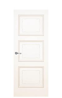 Trieste Interior Door in Antique Gold