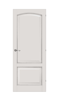 Verona Interior Door |  Ivory & Gold