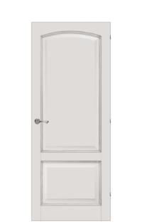 Verona Interior Door |  Ivory & Gold