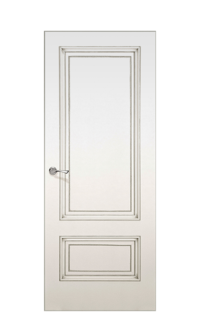 York Door | Antique Silver