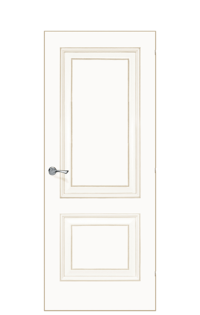 Versailles De Cante Door | Antique Gold