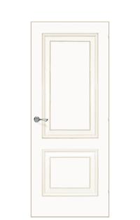Versailles De Cante Door | Antique Gold