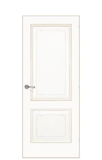 Versailles Interior Door | Antique Gold