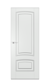 Alicante GN Door | Antique Silver
