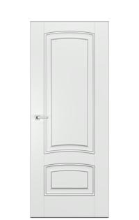 Alicante GN Door | Antique Silver