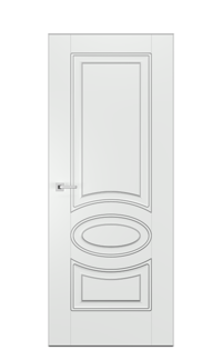 Alicante A Door | Antique Silver