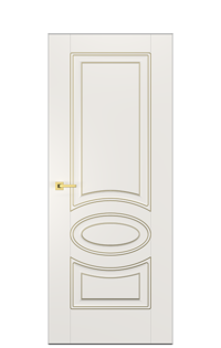 Alicante A Interior Door | Antique Gold