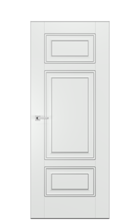 Alicante E Door | Antique Silver