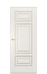 Alicante E Interior Door | Antique Gold