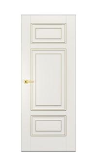 Alicante E Interior Door | Antique Gold