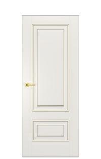 Alicante Enamel Painted Door in Antique Gold