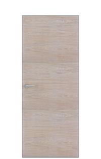 Unica 1 Natural Wood Door | Bleached Oak
