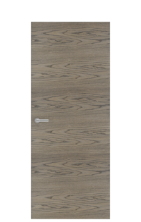 Unica 1 Natural Wood Door | Tobacco
