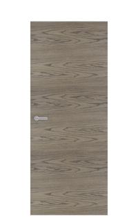 Unica 1 Natural Wood Door | Tobacco