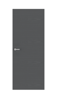 Unica 1 Natural Wood Door | Graphite