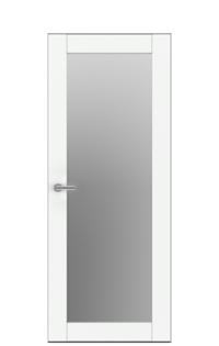 Unica 3 Natural Wood Door