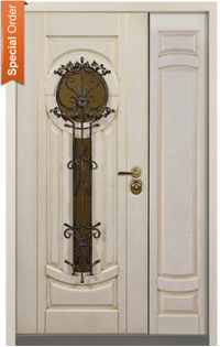 Athens Double Entry Door