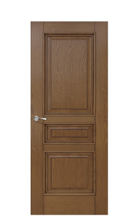 Romula Door in Honey Oak