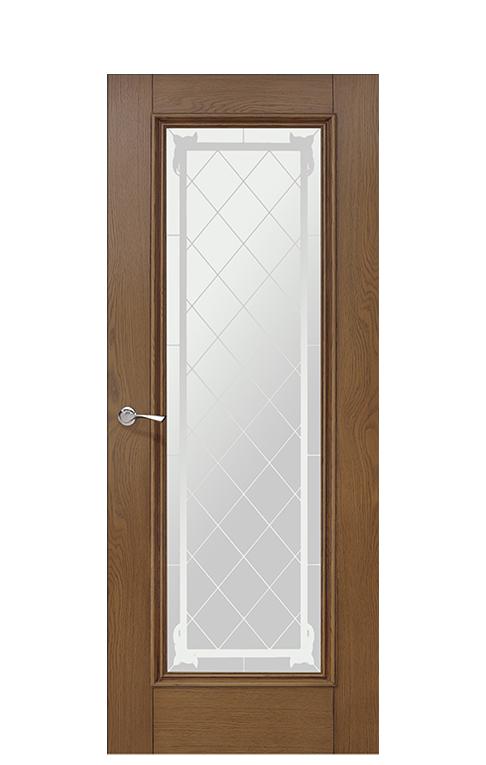 Romula 5 Glazed Interior Doors Honey Oak At Thedoorsdepot