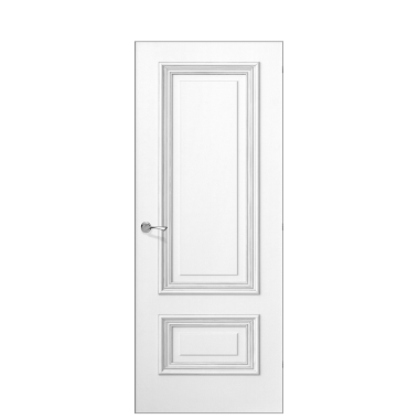 Doge-1A Door | Antique Silver