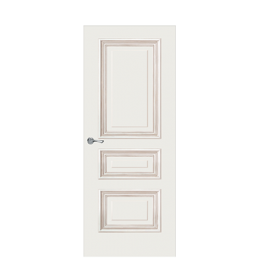 Doge-1B Interior Door | Antique Gold