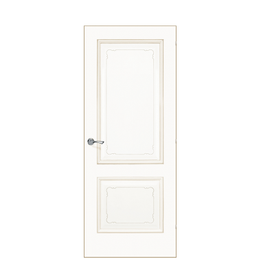 Versailles Interior Door | Antique Gold